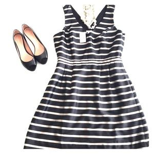 J. Crew factory Striped Dress - Size 10